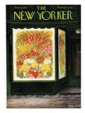 The New Yorker Cover - February 14, 1953 Premium Giclee Print by Edna Eicke