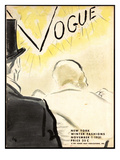 "Vogue Cover - November 1931 Regular Giclee Print by Carl ""Eric"" Erickson"