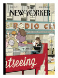 The New Yorker Cover - June 11, 2007 Premium Giclee Print by Adrian Tomine