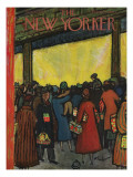 The New Yorker Cover - December 12, 1953 Premium Giclee Print by Abe Birnbaum