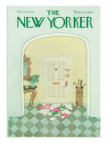 The New Yorker Cover - December 13, 1976 Regular Giclee Print by Laura Jean Allen