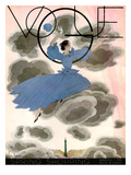 Vogue Cover - March 1933 Regular Giclee Print by Georges Lepape