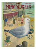 The New Yorker Cover - August 6, 1960 Premium Giclee Print by Charles E. Martin