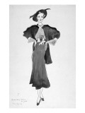 Vogue - March 1935 Premium Giclee Print by Cecil Beaton