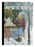 The New Yorker Cover - February 5, 2007 Premium Giclee Print by Peter de Sève