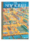 The New Yorker Cover - June 2, 1962 Regular Giclee Print by Anatol Kovarsky