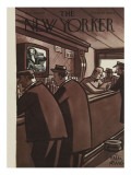 The New Yorker Cover - January 29, 1949 Premium Giclee Print by Peter Arno