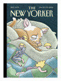 The New Yorker Cover - January 23, 2006 Premium Giclee Print by Gahan Wilson