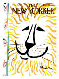 The New Yorker Cover - March 30, 1963 Premium Giclee Print by Abe Birnbaum
