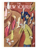 The New Yorker Cover - December 7, 1929 Premium Giclee Print by Julian de Miskey