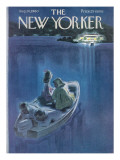 The New Yorker Cover - August 20, 1960 Regular Giclee Print by Leonard Dove