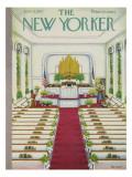 The New Yorker Cover - June 8, 1957 Regular Giclee Print by Edna Eicke