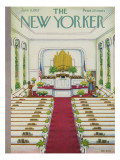 The New Yorker Cover - June 8, 1957 Premium Giclee Print by Edna Eicke