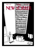 The New Yorker Cover - November 28, 2005 Regular Giclee Print by Bruce Eric Kaplan