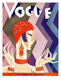 Vogue Cover - July 1926 Premium Giclee Print by Eduardo Garcia Benito