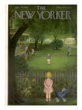 The New Yorker Cover - July 29, 1950 Premium Giclee Print by Edna Eicke