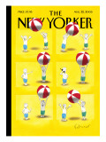 The New Yorker Cover - August 22, 2005 Regular Giclee Print by Ian Falconer