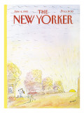 The New Yorker Cover - June 6, 1983 Premium Giclee Print by Jean-Jacques Sempé