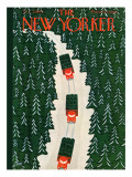 The New Yorker Cover - December 3, 1960 Premium Giclee Print by Charles E. Martin