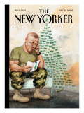 The New Yorker Cover - December 19, 2005 Premium Giclee Print by Anita Kunz