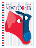 The New Yorker Cover - October 13, 2008 Regular Giclee Print by Bob Staake