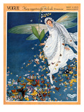 Vogue Cover - May 1913 Premium Giclee Print by George Wolfe Plank