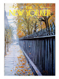 The New Yorker Cover - October 19, 1968 Regular Giclee Print by Arthur Getz