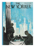 The New Yorker Cover - January 16, 1960 Regular Giclee Print by Arthur Getz