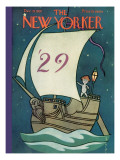 The New Yorker Cover - December 29, 1928 Premium Giclee Print by Rea Irvin