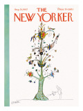 The New Yorker Cover - August 26, 1967 Premium Giclee Print by Saul Steinberg