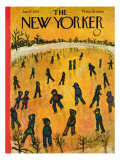 The New Yorker Cover - January 17, 1953 Regular Giclee Print by Abe Birnbaum
