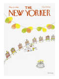 The New Yorker Cover - May 12, 1980 Regular Giclee Print by Robert Tallon