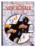 The New Yorker Cover - August 20, 1990 Premium Giclee Print by Kathy Osborn
