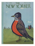 The New Yorker Cover - March 14, 1959 Regular Giclee Print by Abe Birnbaum
