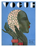 Vogue Cover - March 1931 Regular Giclee Print by Eduardo Garcia Benito