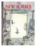 The New Yorker Cover - August 17, 1992 Regular Giclee Print by George Booth