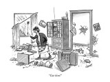 """Got him!"" - New Yorker Cartoon Premium Giclee Print by Tom Cheney"