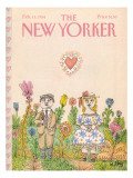 The New Yorker Cover - February 13, 1984 Premium Giclee Print by William Steig
