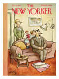 The New Yorker Cover - October 12, 1935 Premium Giclee Print by William Steig