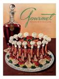 Gourmet Cover - January 1949 Regular Giclee Print by Henry Stahlhut