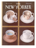 The New Yorker Cover - January 18, 1993 Premium Giclee Print by Gürbüz Dogan Eksioglu