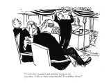 """I wish they wouldn't put such big words in my speeches. I like to know wh…"" - New Yorker Cartoon Premium Giclee Print by Mischa Richter"