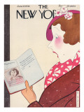 The New Yorker Cover - June 27, 1936 Premium Giclee Print by Rea Irvin