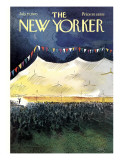 The New Yorker Cover - July 25, 1970 Regular Giclee Print by Arthur Getz
