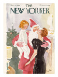 The New Yorker Cover - December 23, 1939 Premium Giclee Print by Perry Barlow