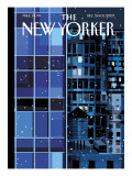 The New Yorker Cover - December 24, 2007 Regular Giclee Print by Kim DeMarco