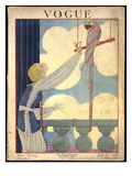 Vogue Cover - July 1919 Premium Giclee Print by Georges Lepape