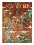 The New Yorker Cover - October 8, 1949 Premium Giclee Print by Reginald Massie