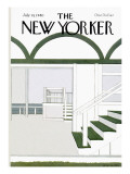 The New Yorker Cover - July 14, 1980 Premium Giclee Print by Gretchen Dow Simpson