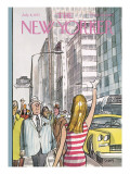 The New Yorker Cover - July 8, 1972 Premium Giclee Print by Charles Saxon